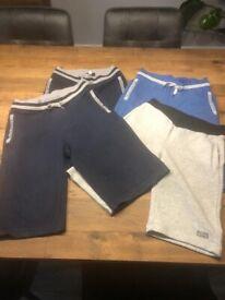 Boys shorts & boss t-shirts