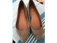 Next ballerina pumps size 4