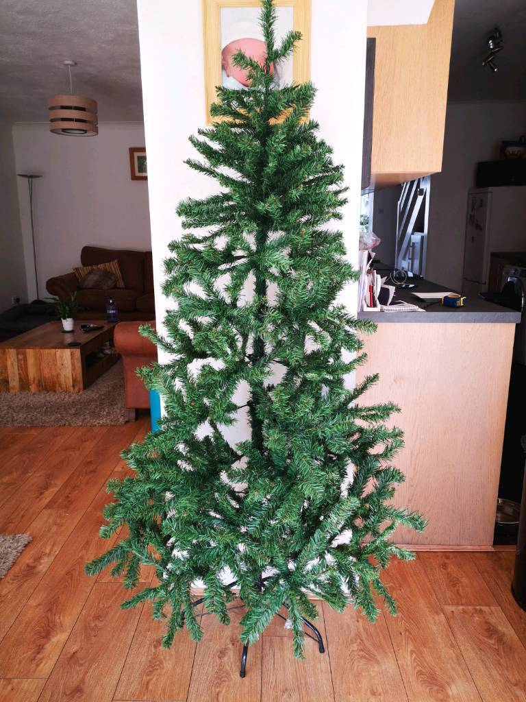 Artificial 6ft FLAT Back Christmas Trees | in Maidstone, Kent | Gumtree