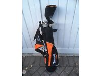 Junior golf set and bag