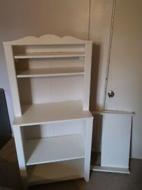 IKEA Hensvik white changing table