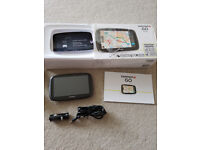 Tomtom go 5100 sat nav, fully boxed