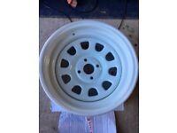 Extreme offset wheel / banded steel wheels / 15x8 15x9 bbs alloys