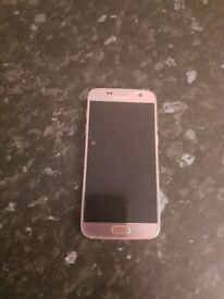 Samsung S7 Rose Gold