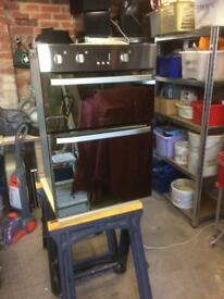 Built in double oven hotpoint