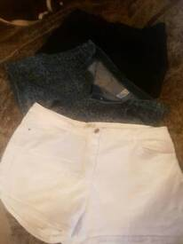 Denim shorts size 18-20