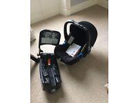 Britax Baby Safe + SHR 2, infant and flex base