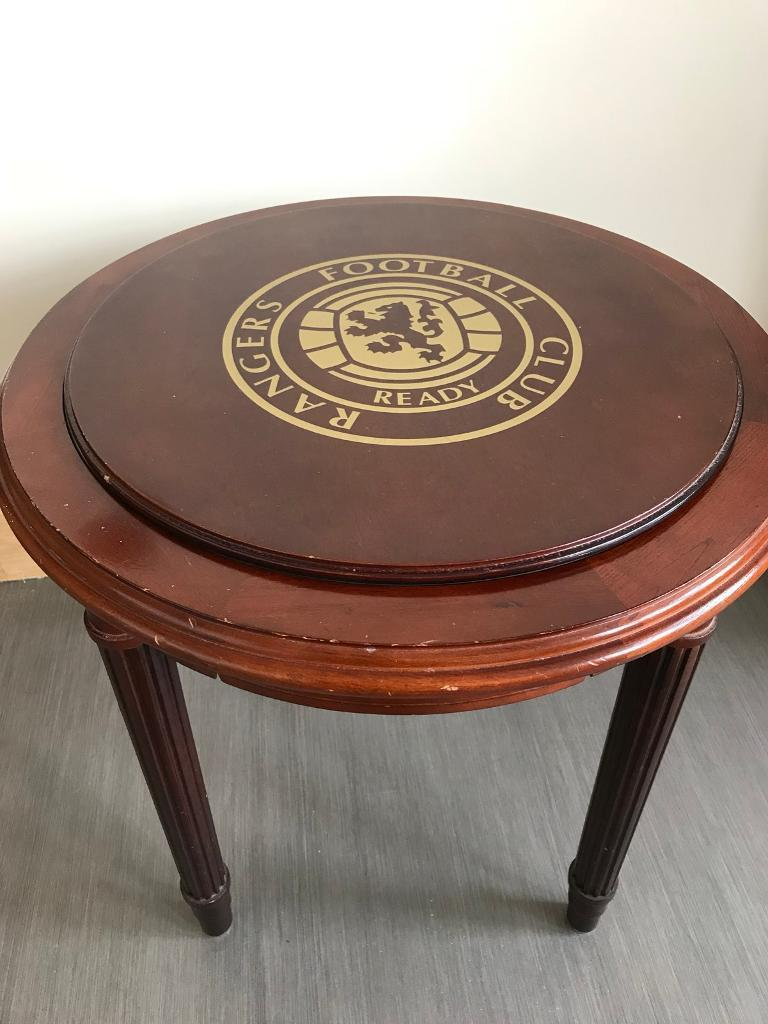 Rangers Football Club Side Table