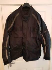 Frank Thomas textile motorbike jacket.