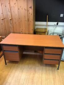 Office desk with 5 draws