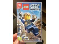LEGO CITY : UNDERCOVER For Nintendo Switch for sale
