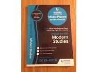 Modern Studies Higher level model papers