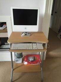 Small computer table . Width 23.5 inches and height 30 inches