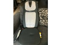 Homedics heated massage chair with remote