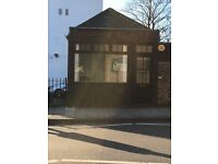 Unique opportunity to rent this ex railway ticket office on the Hornsey Road N19.