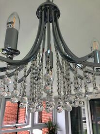 Crystal Chandelier 12 arm