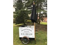 Traditional Ice Cream Carts fro sale!