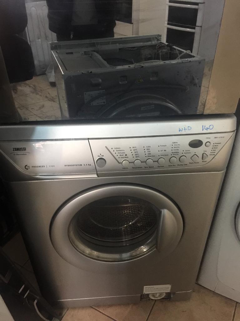20.zanussi washer and dryer