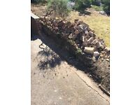 *Free to collect* Brick rubble & topsoil