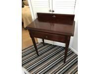 Elegant Mahogany Dressing Table
