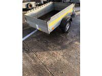 Bockman 6 x 4 trailer with 13 inch wheels 750kg