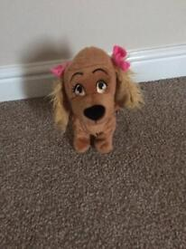 "Girls toy ""Lucy the dog"""