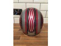 Bell custom 500 motorcycle helmet in medium