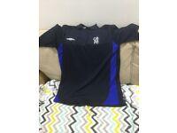 Various Chelsea football club polo shirts