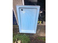 Shower tray - new