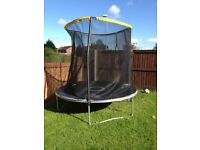 Trampoline with side netting Very good condition