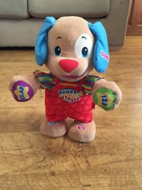 Fisher Price Laugh and Learn Clap & Dance Puppy