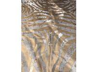 Rug- 100 percent woolen Brazilian Cow Hide stunning show piece - 246 cm x 180 cm approx