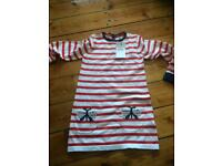 M and S 5-6 years girls BNWT