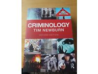 Criminology - Tim Newburn. Introduction to classic and contemporary criminological themes & debates.
