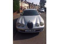 Jaguar S Type for sale. Silver, 2.5Ltr, Automatic, £995ONO