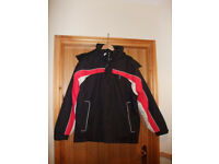 NEW Trespass Men's Ski Jacket, Black, Size Small.
