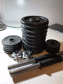 Total 27kg Weights