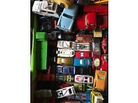 Joblot of diecast cars
