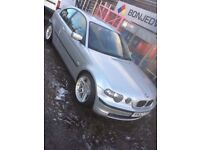 Bmw compact with 330 conversion, track car, drift car