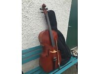 Stentor 3/4 Cello complete with bag