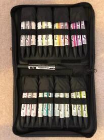 LeTraset PROMARKER Designer set of 25 colours - £25 ono