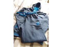 Ladies Blue Adidas Track suit size small