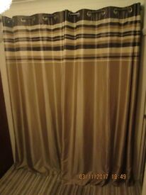 1 PAIR OF LONG CURTAINS