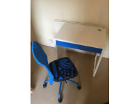BACK TO SCHOOL - DESK AND CHAIR SET - £50 ONO - EXCELLENT CONDITION