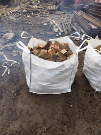 Hard wood and softwood firewood