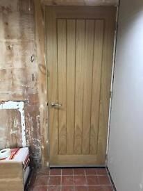 Howdens oak door