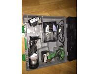 Hitachi 14.4v WH14dsdl impacter 2x4ah with torch