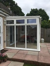 Free conservatory available for collection