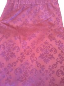 Curtains Wine Colour