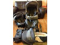 Silvercross travel system with Isofix base